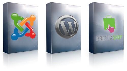 CMS WordPress Joomla et Prestashop