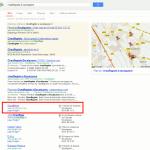 Résultat de recherche sur Google