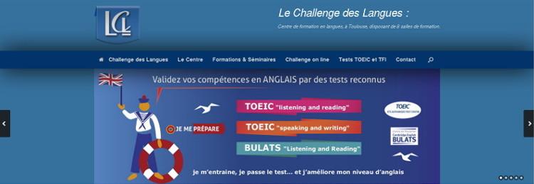 Refonte complète du site web vitrine du Challenge des Langues