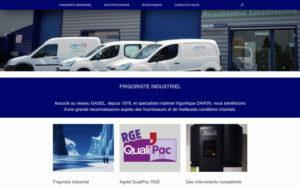 Site web Ducros et Soulet après refonte
