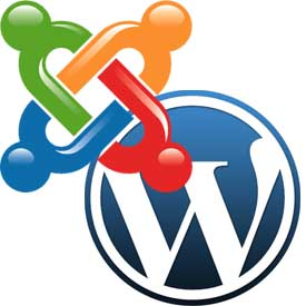 CMS WordPress et Joomla