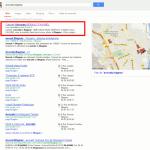 Référencement en première page de google