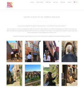 Création de nouvelles pages du site internet Paysdoc