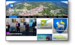 Site web de la mairie d'Escoussens