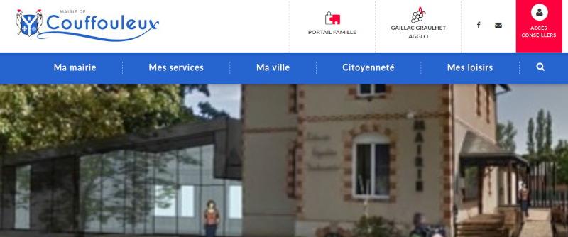 Site couffouleux.fr et cloud