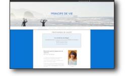Site web principedevie.fr