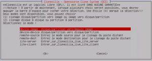 Dupliquer un PC avec Clonezilla